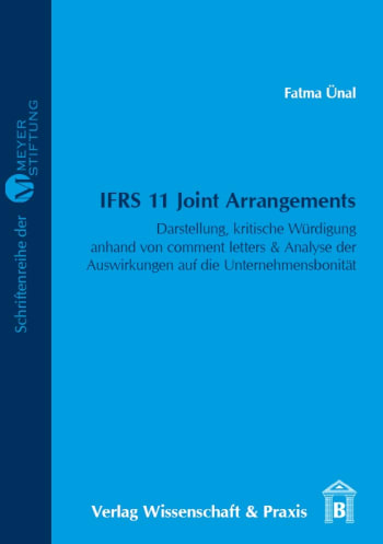 Cover: IFRS 11 Joint Arrangements