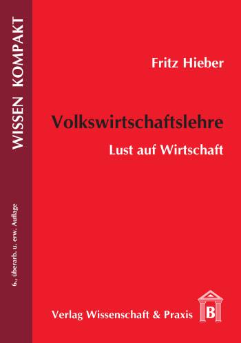 Cover: Volkswirtschaftslehre