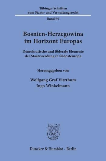 Cover: Bosnien-Herzegowina im Horizont Europas