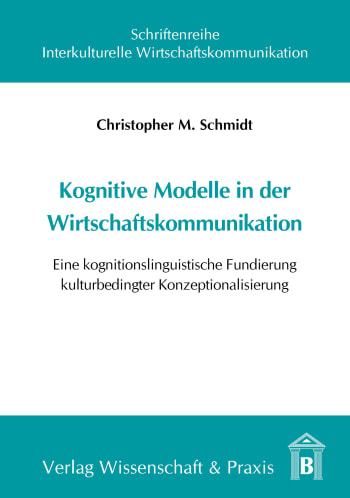 Cover: Kognitive Modelle in der Wirtschaftskommunikation