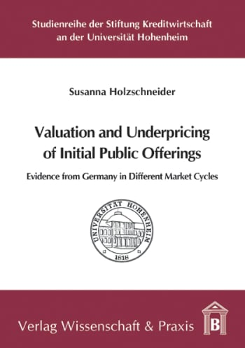 Cover: Valuation and Underpricing of Initial Public Offerings