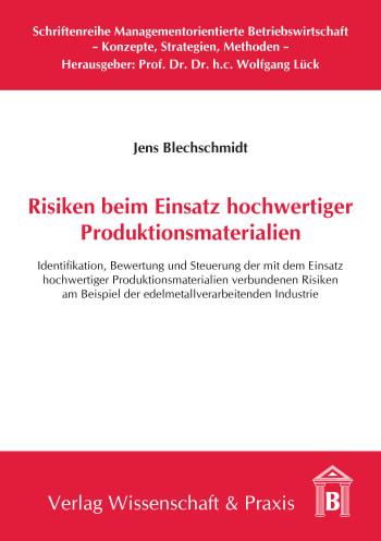 Cover: Schriftenreihe Managementorientierte Betriebswirtschaft (SMB)