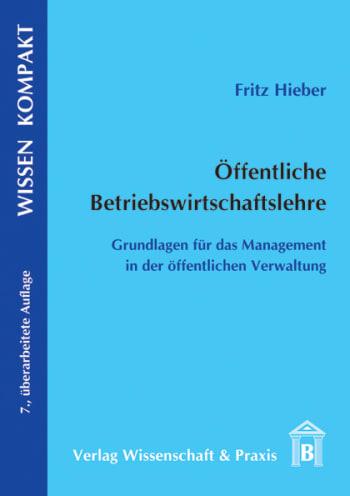 Cover: Öffentliche Betriebswirtschaftslehre