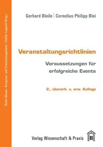 Cover: Veranstaltungsrichtlinien