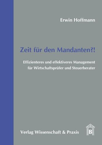 Cover: Zeit für den Mandanten?!