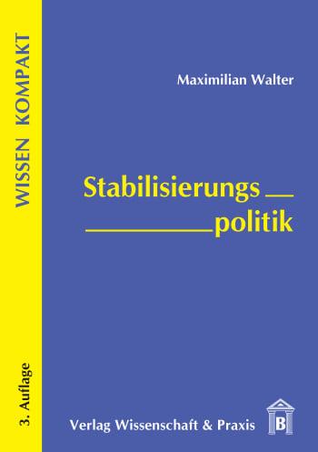 Cover: Stabilisierungspolitik