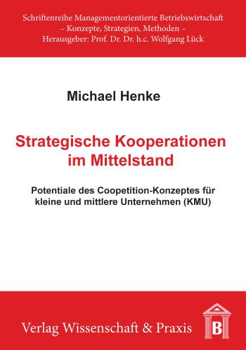 Cover: Strategische Kooperationen im Mittelstand