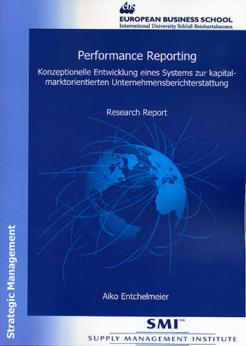 Cover: Performance Reporting