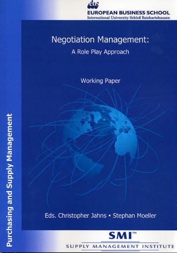 Cover: Negotiation Management