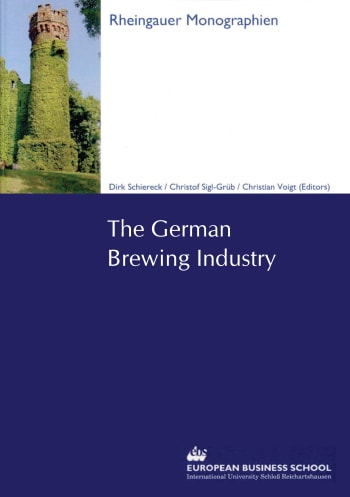 Cover: The German Brewing Industry