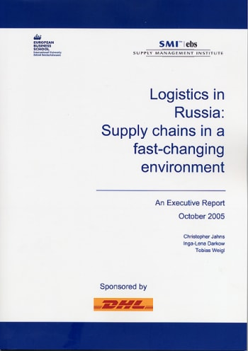 Cover: Logistics in Russia