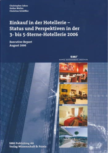 Cover: Einkauf in der Hotellerie