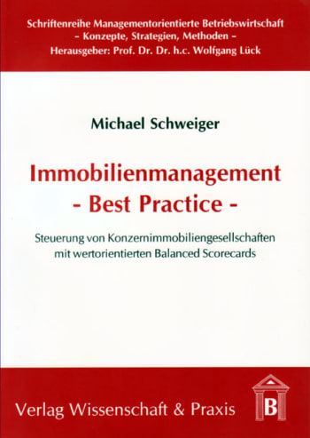 Cover: Immobilienmanagent - Best Practice