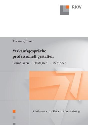 Cover: Verkaufsgespräche professionell gestalten