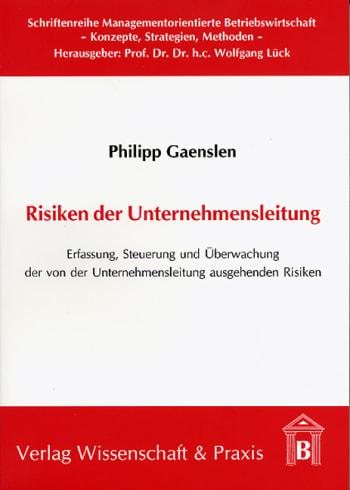 Cover: Risiken der Unternehmensleitung