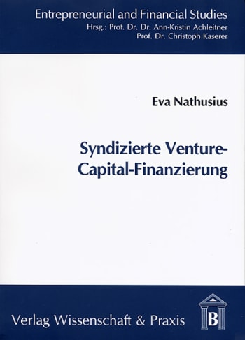 Cover: Syndizierte Venture-Capital-Finanzierung