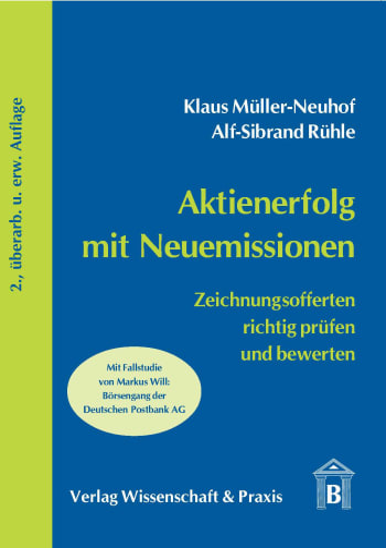 Cover: Aktienerfolg mit Neuemissionen