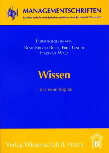 Cover: Wissen – das neue Kapital