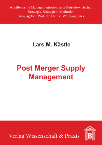 Cover: Post Merger Supply Management