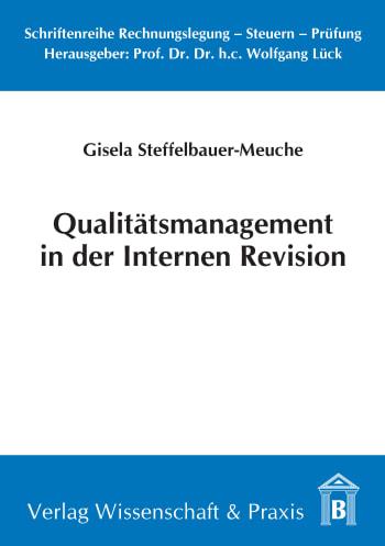 Cover: Qualitätsmanagement in der Internen Revision