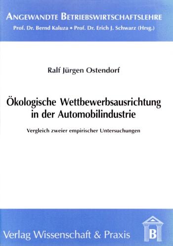 Cover: Angewandte Betriebswirtschaftslehre (ABW)