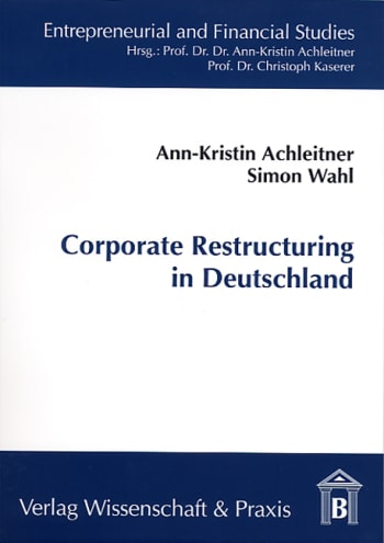 Cover: Corporate Restructuring in Deutschland