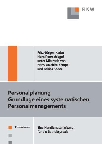 Cover: Personalplanung – Grundlagen eines systematischen Personalmanagements