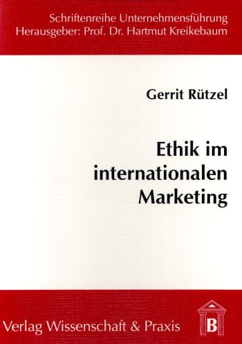 Cover: Ethik im internationalen Marketing