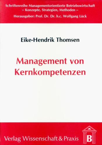 Cover: Management von Kernkompetenzen