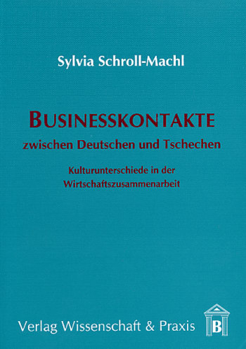 Cover: Businesskontakte zwischen Deutschen und Tschechen