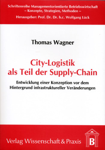 Cover: City-Logistik als Teil der Supply-Chain