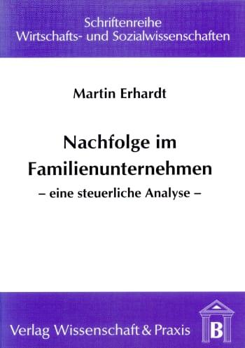Cover: Nachfolge im Familienunternehmen