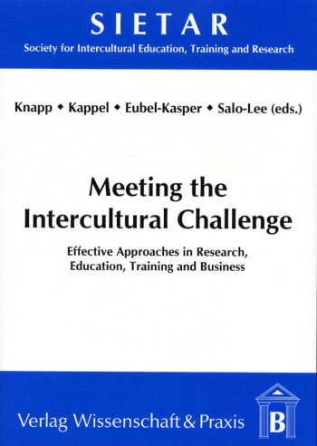 Cover: Meeting the Intercultural Challenge