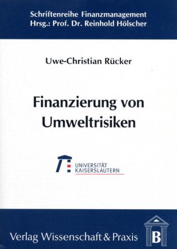 Cover: Finanzierung von Umweltrisiken