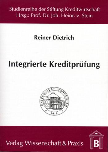 Cover: Integrierte Kreditprüfung