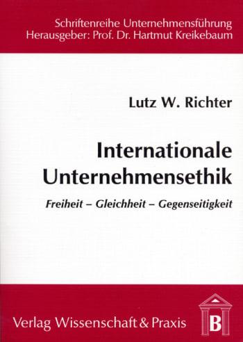 Cover: Internationale Unternehmensethik