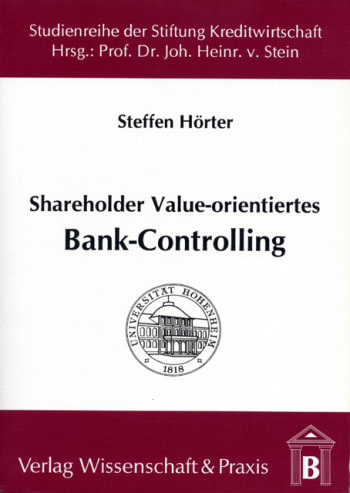 Cover: Shareholder Value-orientiertes Bank-Controlling