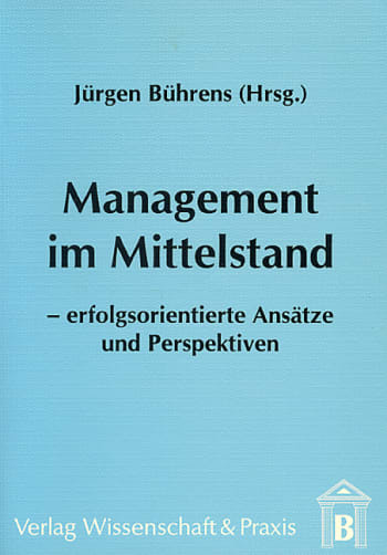 Cover: Management im Mittelstand