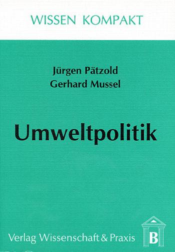 Cover: Umweltpolitik