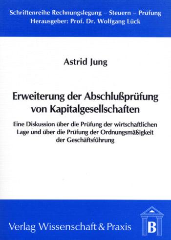 Cover: Erweiterung der Abschlussprüfung von Kapitalgesellschaften