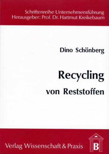 Cover: Recycling von Reststoffen