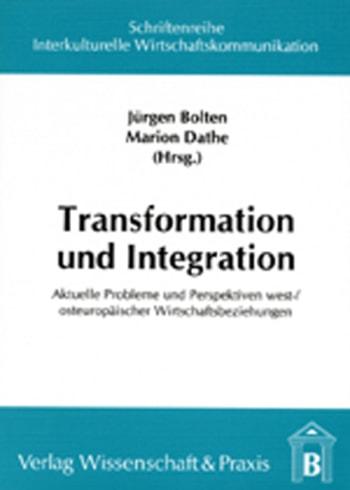 Cover: Transformation und Integration