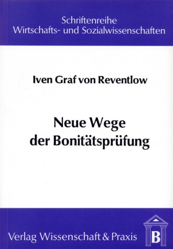 Cover: Neue Wege der Bonitätsprüfung