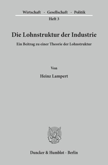 Cover: Wirtschaft, Gesellschaft, Politik (WGP)