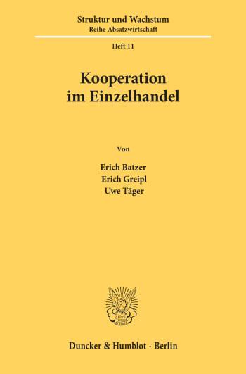 Cover: Kooperation im Einzelhandel