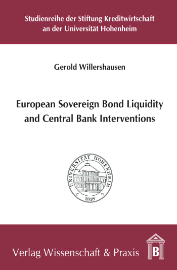 Cover: European Sovereign Bond Liquidity and Central Bank Interventions