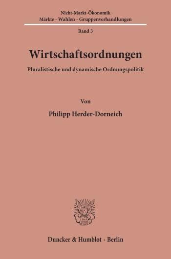 Cover: Nicht-Markt-Ökonomik (NMÖ)