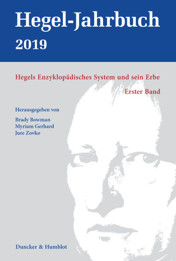 Cover: Hegel-Jahrbuch (HGJB)