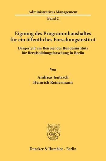 Cover: Administratives Management (AM)