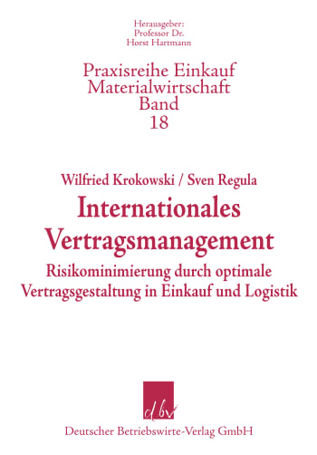 Cover: Internationales Vertragsmanagement